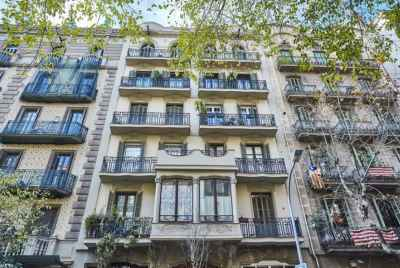 Exclusive modernist style residential building for sale in Barcelona